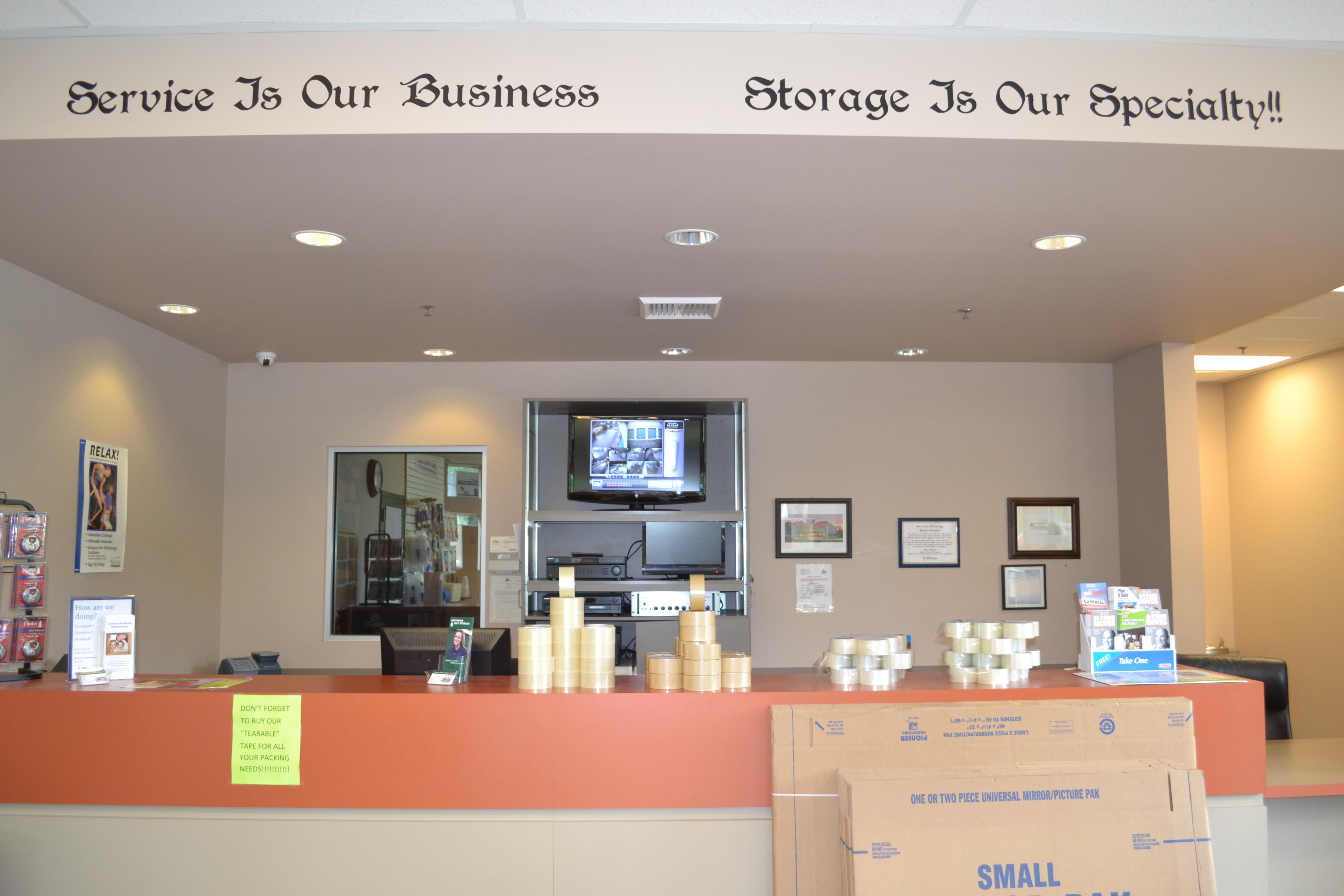 Marymoor Self Storage Office 2