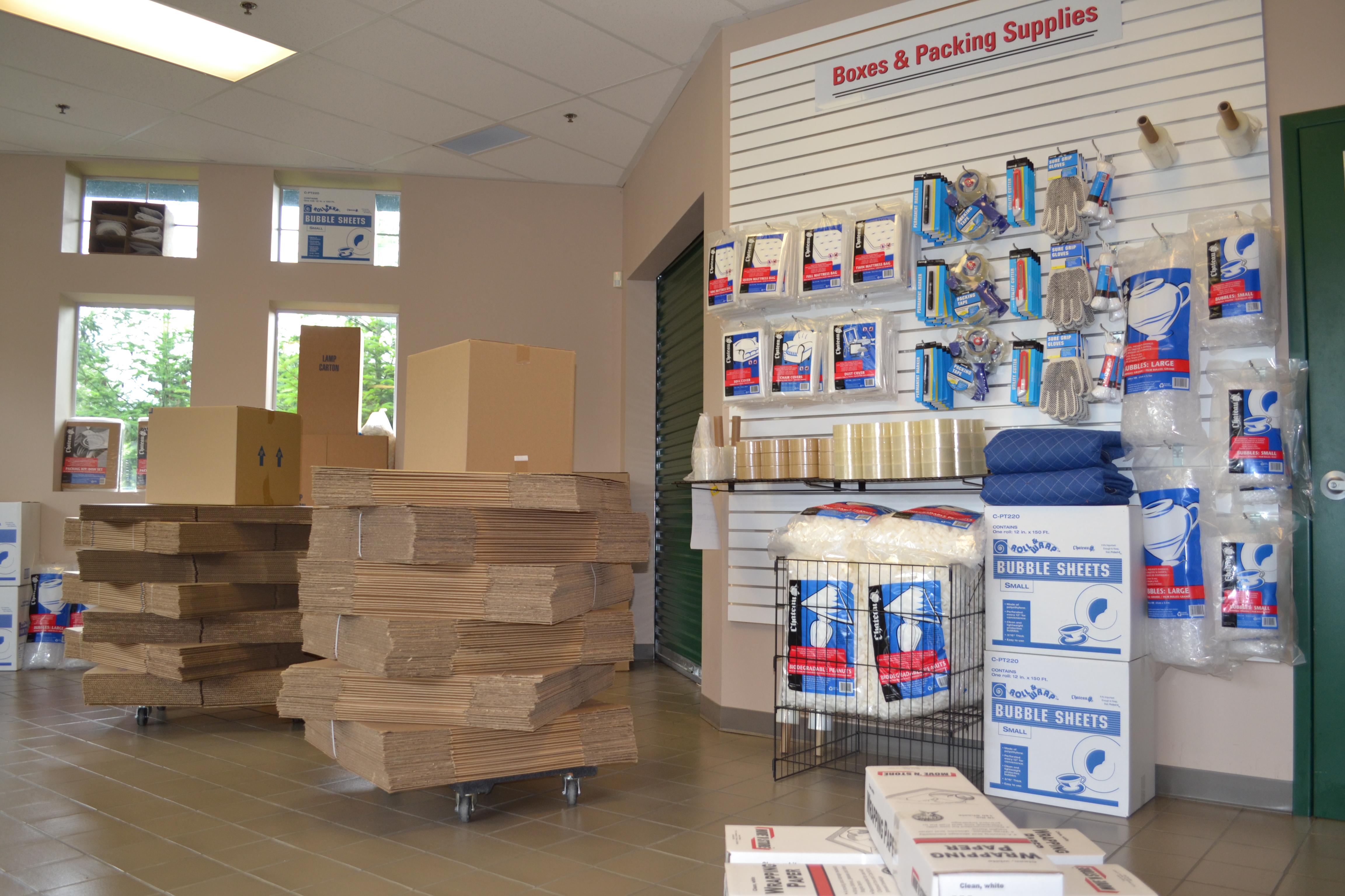 Marymoor Self Storage Packing Supplies 4