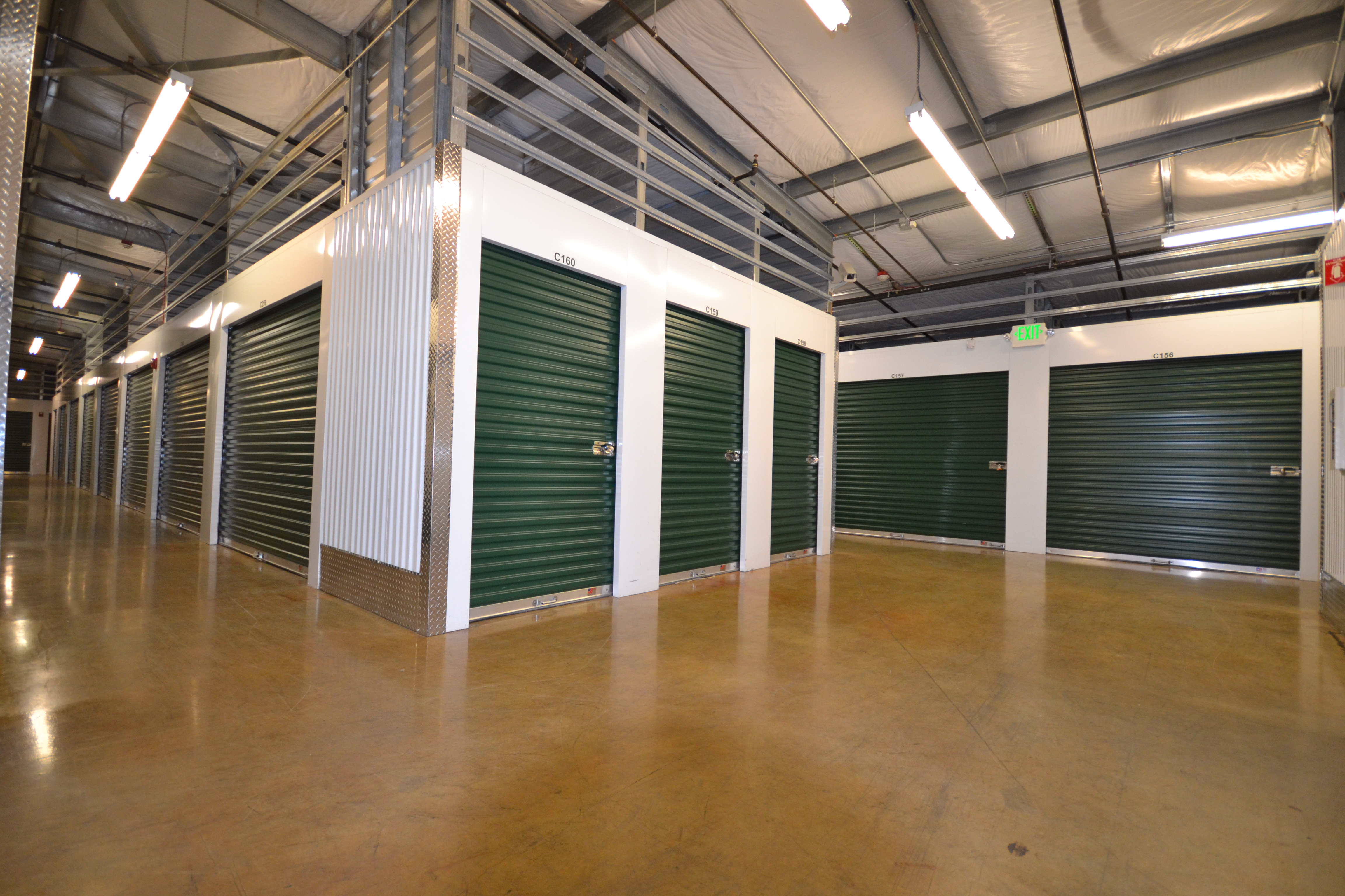 Marymoor Self Storage Interior Units